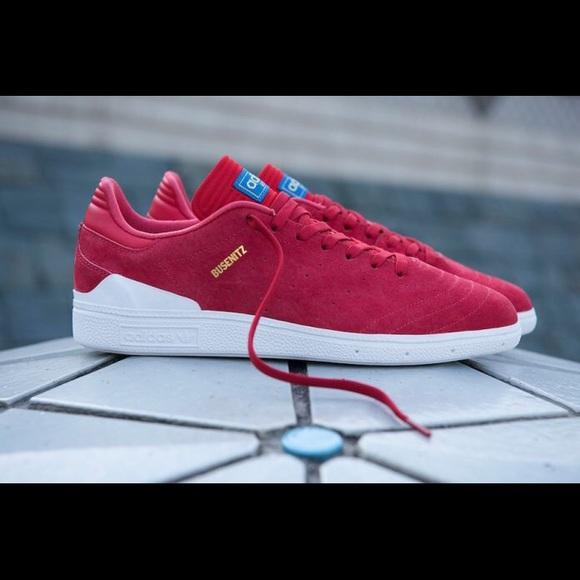 8a018252c28b6 Adidas Busenitz RX in Scarlet